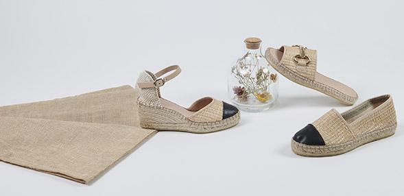 Delikate farver Dame Sko Sandaler Blå Softwalk sandal Mest