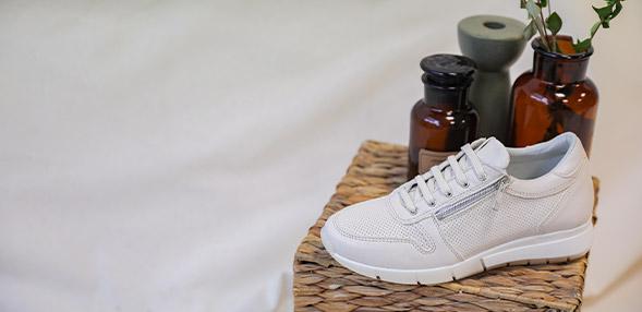 Buffalo London Sneakers High Damer Hvid Sko Køb
